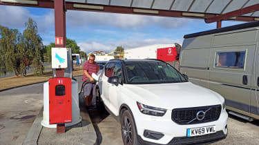 Volvo XC40 Recharge T5 long termer - second report header