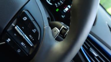 Hyundai Ioniq Plug-in long term - first report steering wheel detail