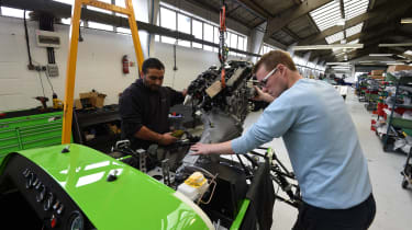 Long-term test review: Caterham 270S fitting engine