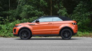 Range Rover Evoque Convertible - roof closed