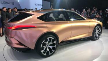 Lexus LF-1 Limitless - rear quarter show