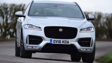 Jaguar F-Pace - front cornering