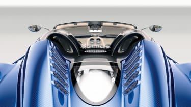 Pagani Huayra Roadster 2017 - studio engine cover