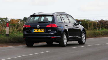 Volkswagen Golf Estate rear tracking