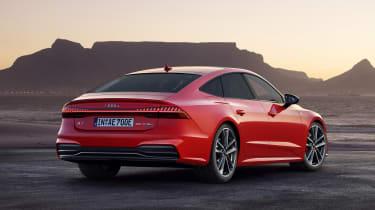 Audi A7 Sportback PHEV - rear