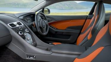 Aston Martin Vanquish interior - Footballers' cars