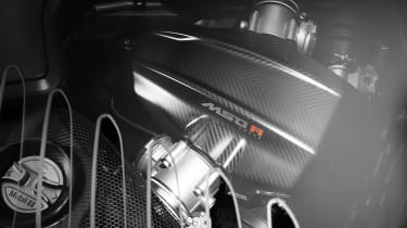 McLaren MSO R Coupe engine
