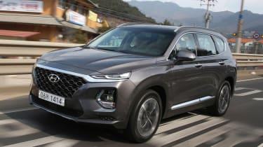 New Hyundai Santa Fe - front