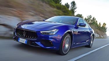 Maserati Ghibli facelift - front