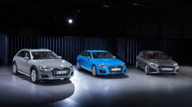 Audi A4 - line-up