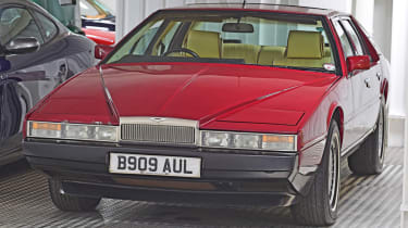 Movie and TV cars - Aston Martin Lagonda