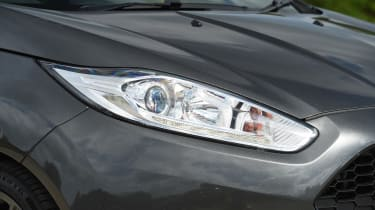 Ford Fiesta - headlight