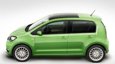 Skoda Citigo facelift 2017 - green side