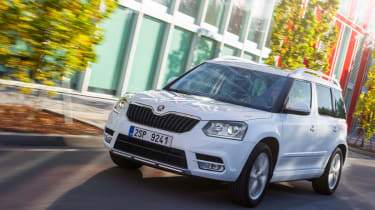 Skoda Yeti 2014 1 2 Tsi Review Auto Express