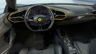 Ferrari 296 GTB Assetto Fiorano - dash