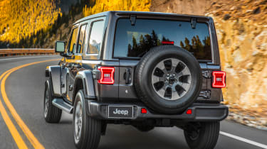 New Jeep Wrangler - rear