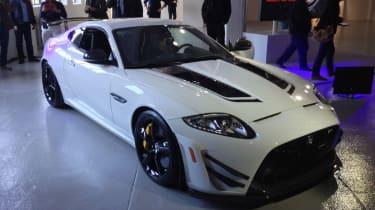 Jaguar XKR-S GT launch front