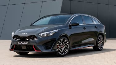 Kia Proceed facelift - front static