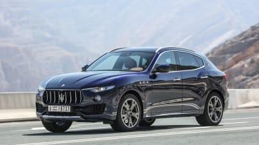 Maserati Levante - front/side