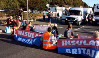 Insulate Britain Dover