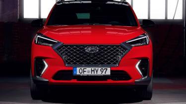 Hyundai Tucson N Line - front static
