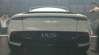 Aston Martin DBS Superleggera - reveal full rear