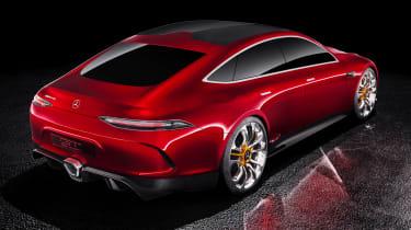 Mercedes-AMG GT Concept - rear static