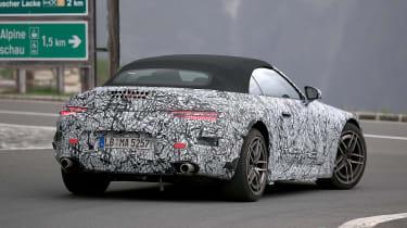 Mercedes SL spy shot - rear