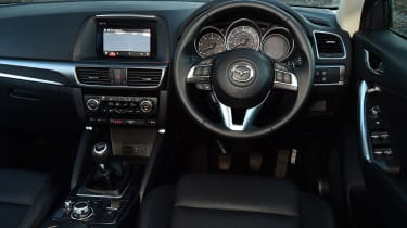 Mazda CX-5 - dash