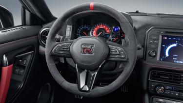 Nissan GT-R NISMO - steering wheel