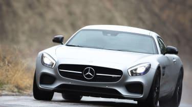 Mercedes-AMG GT - cornering