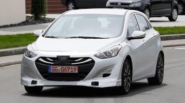 Hyundai i30 N spy shots - front