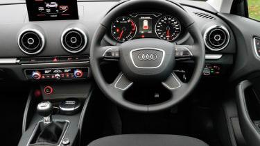 Audi A3 1.6 TDI SE interior