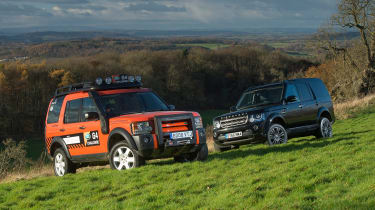 Land Rover Discovery Mk3 and Land Rover Discovery Mk4