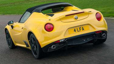 Alfa Romeo 4C Spider - rear