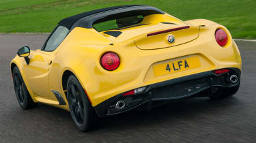 Alfa Romeo 4C Spider - rear