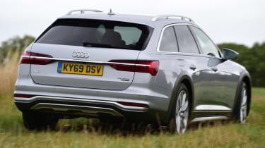 Audi A6 Allroad - rear off-road