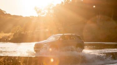 Mercedes GLE - sunset
