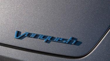 Aston Martin Vanquish 2014 badge