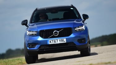 Volvo XC40 - front action