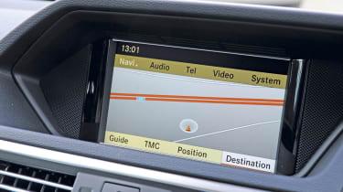 Mercedes E350 sat-nav