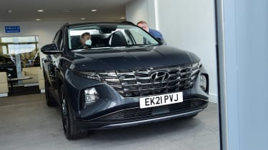 Hyundai Tucson Ultimate Hybrid - first report front static