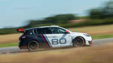 Peugeot 308 Racing Cup - side