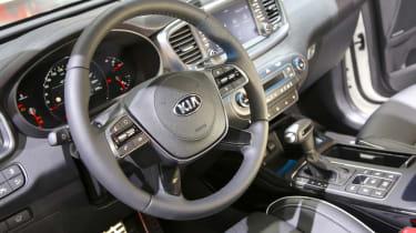 Kia Sorento - Frankfurt steering wheel
