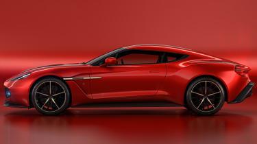 Aston Martin Vanquish Zagato - side