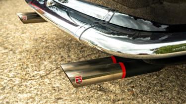 Ferrari 250 GT California Spyder remake - exhausts