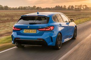 BMW 118i - rear tracking