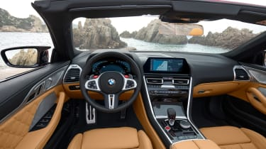BMW M8 Competition Convertible - dash