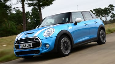 MINI 5-door - tracking