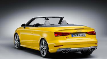 Audi A3 facelift - cabriolet rear three quarter
